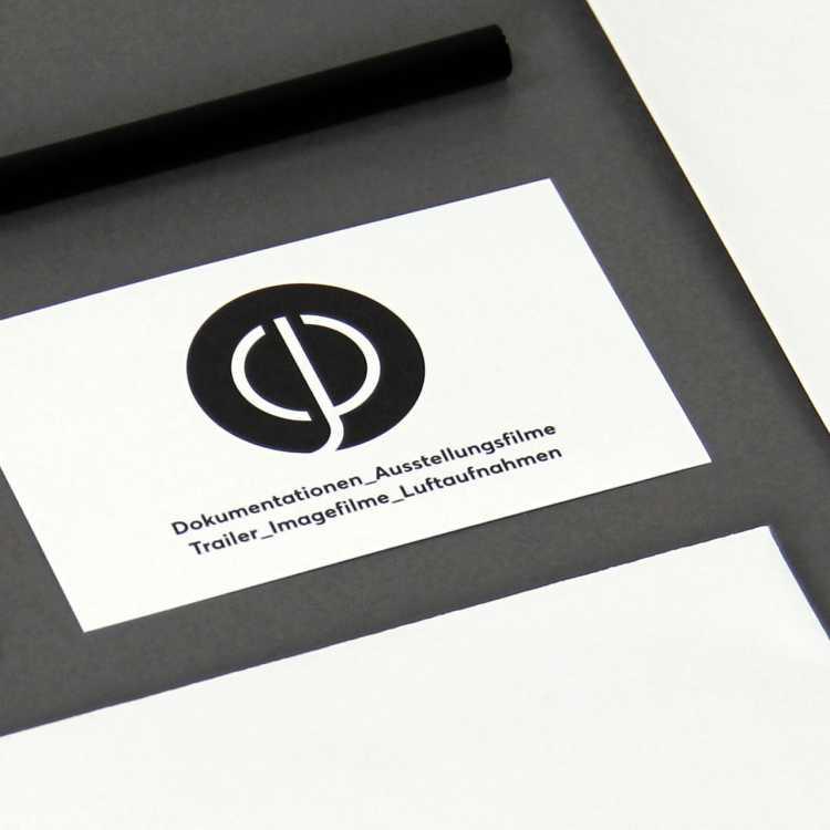 plattnerfilm.ch: Corporate Design, Visitenkarten