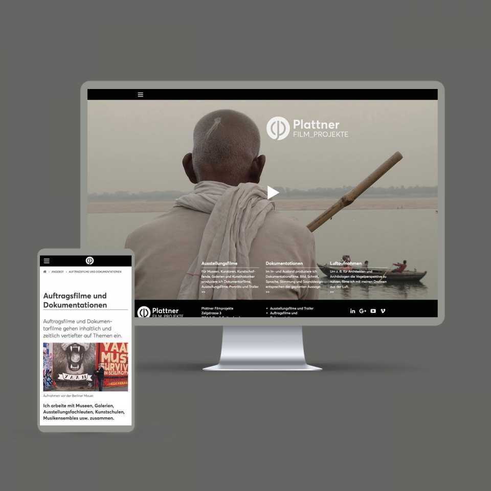 plattnerfilm.ch: Website