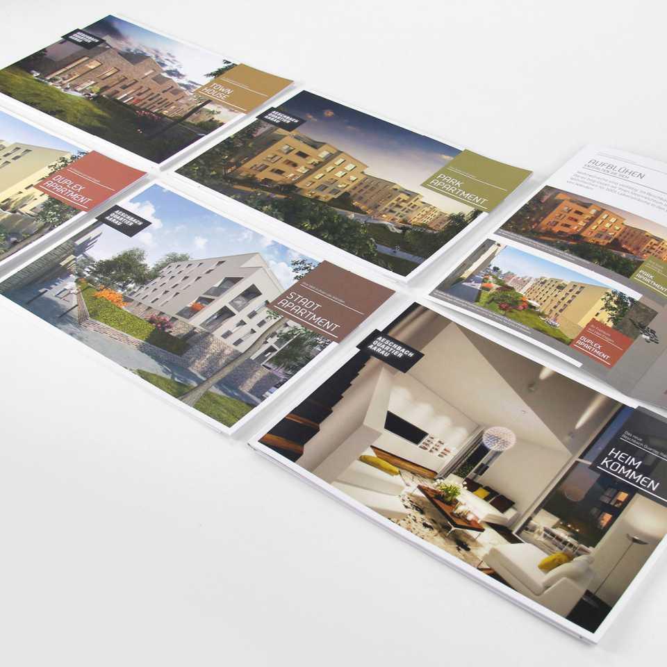 Aeschbachquartier Aarau: Vermarktungskampagne