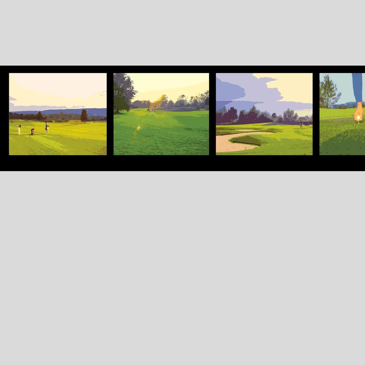 Golfpark Lägern / Otelfingen: Neugestaltung der Unterführung