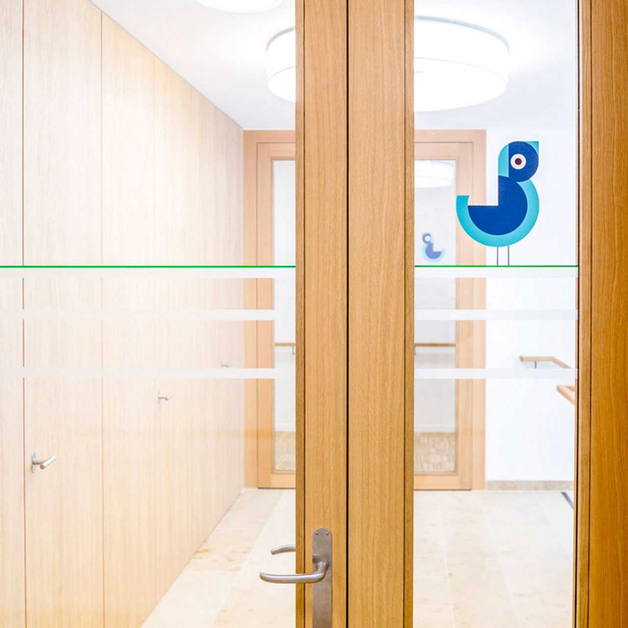 Pflegezentrum Stadtgarten: Corporate Design, Signaletik