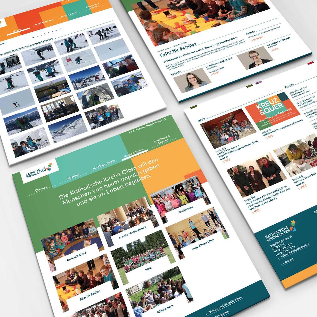 Katholische Kirche Olten: Neue Website