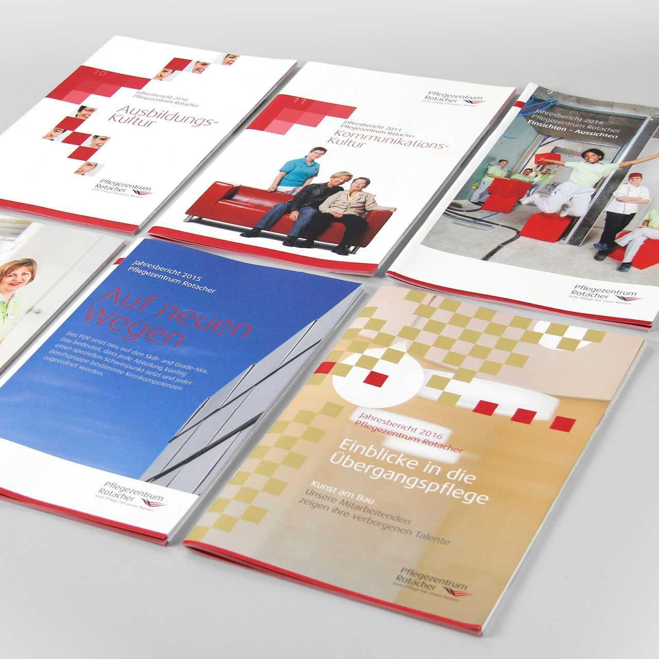 Pflegezentrum Rotacher: Jahresberichte
