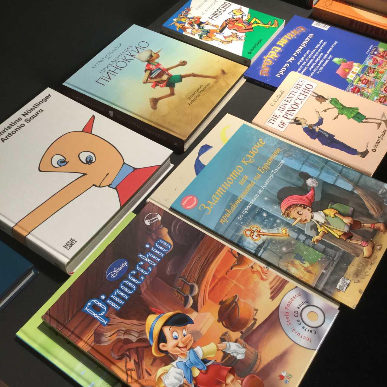 Pinocchio in allen Sprachen