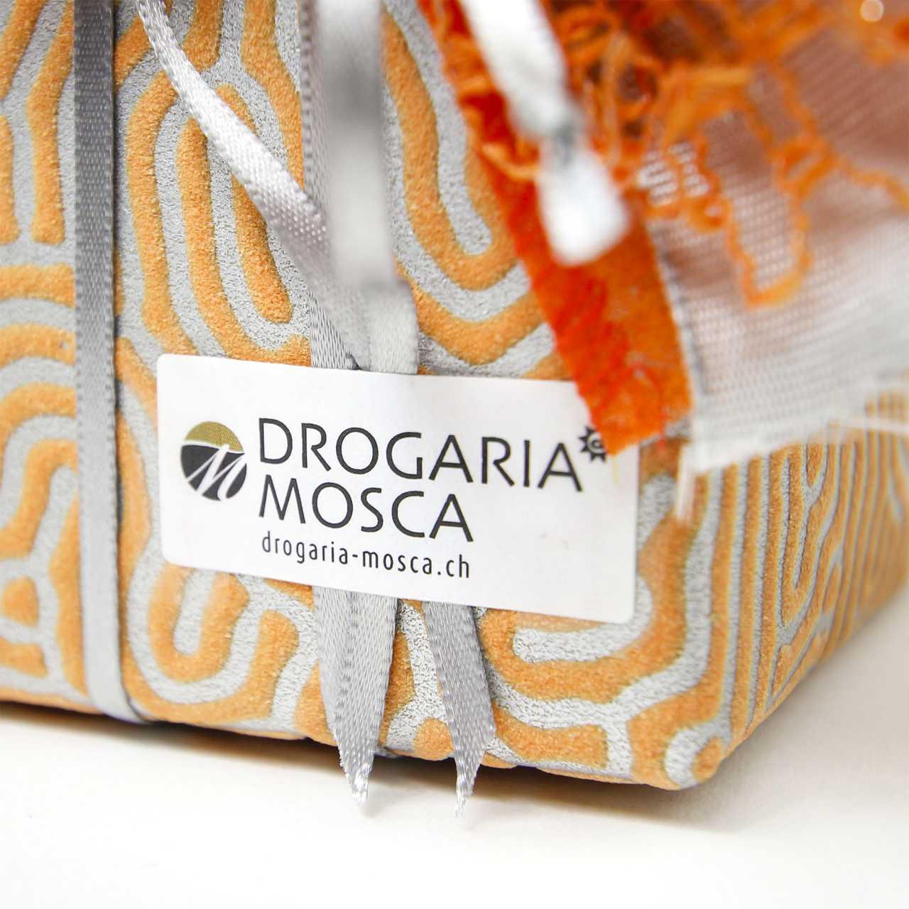 Geschenk der Drogaria Mosca in Scuol